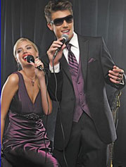 Featured Item Tuxes Prom DressDibs Featured Formal Wear Designer: Jean Yves